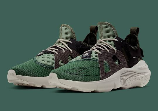 The Nike N.354 Huarache Type Gets A Military-Inspired Upgrade