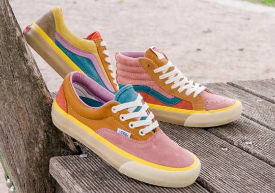 Vans Brings The Multi-colored Suedes To Their LX Trim