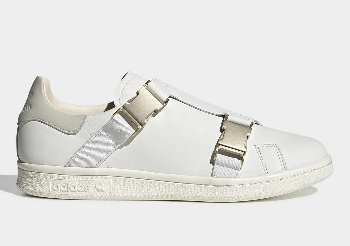 économiser 308ae 390d3 adidas Stan Smith Buckle Off White EE4889 Release Date ...