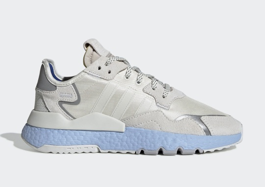 The adidas Nite Jogger Gets Soft Blue Boost Upgrades