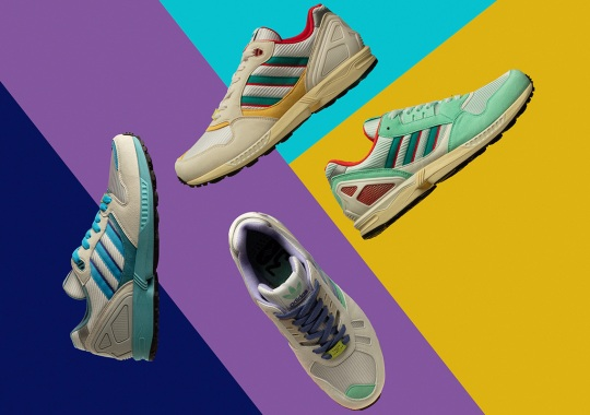 adidas Originals Celebrates 30 Years Of Torsion With ZX Running Re-issues