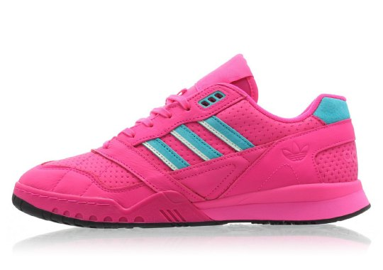 The adidas AR Trainer Gets A Blast Of Neon Pink