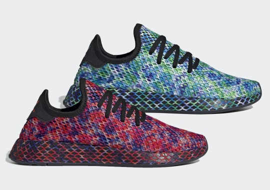 The adidas Deerupt Returns With Color-Blotted Uppers