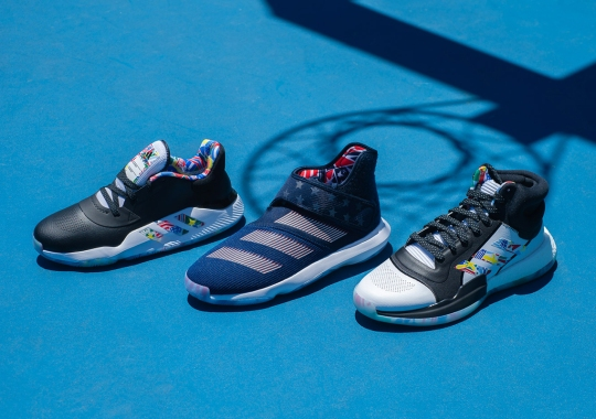 "adidas Hoops Prepares For FIBA Games With ""Ball Around The World"" Collection"