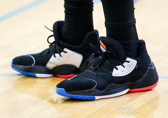 James Harden Spotted In The adidas Harden Vol 4