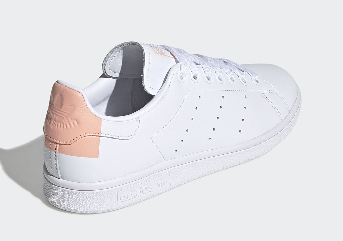 revendeur 85bc8 48d14 adidas Stan Smith White Glow Pink EG2854 Release Date ...