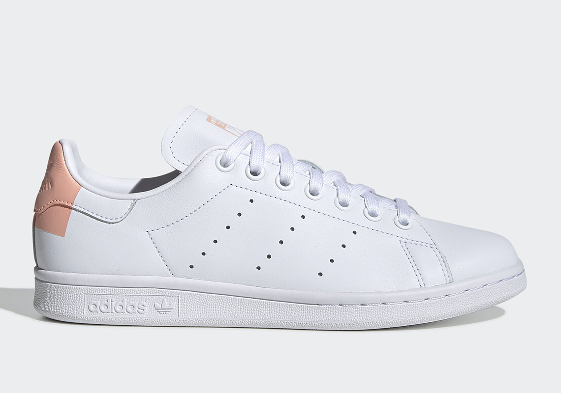 sale retailer 4a9f3 6cba0 adidas Stan Smith White Glow Pink EG2854 Release Date ...