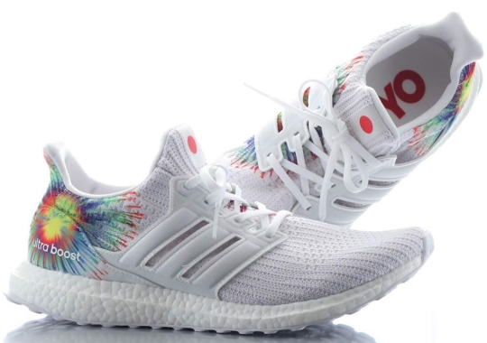"The adidas Ultra Boost ""Japan"" Features Wild Fireworks"