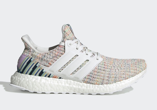 This Upcoming adidas Ultra Boost Adds Colorful Patterns On The Heel