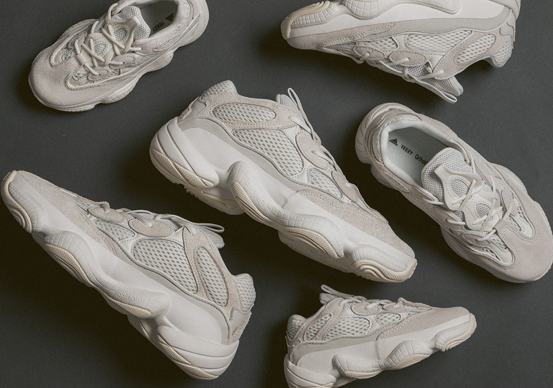 premium selection 9259f adb78 adidas Yeezy 500 Bone White Official Release Date ...