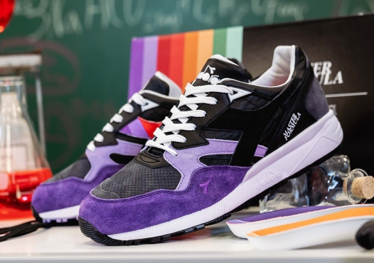 """afew And Diadora Create A """"Master Formula"""" In The Lab"""