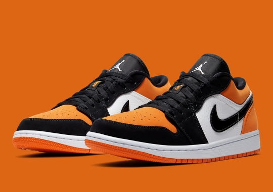 "Official Images Of The Air Jordan 1 Low ""Shattered Backboard"""