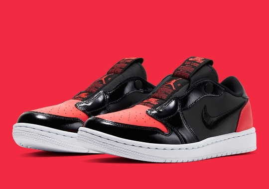 "The Air Jordan 1 Low Slip Adds Vivid ""Hot Punch"" Accents"