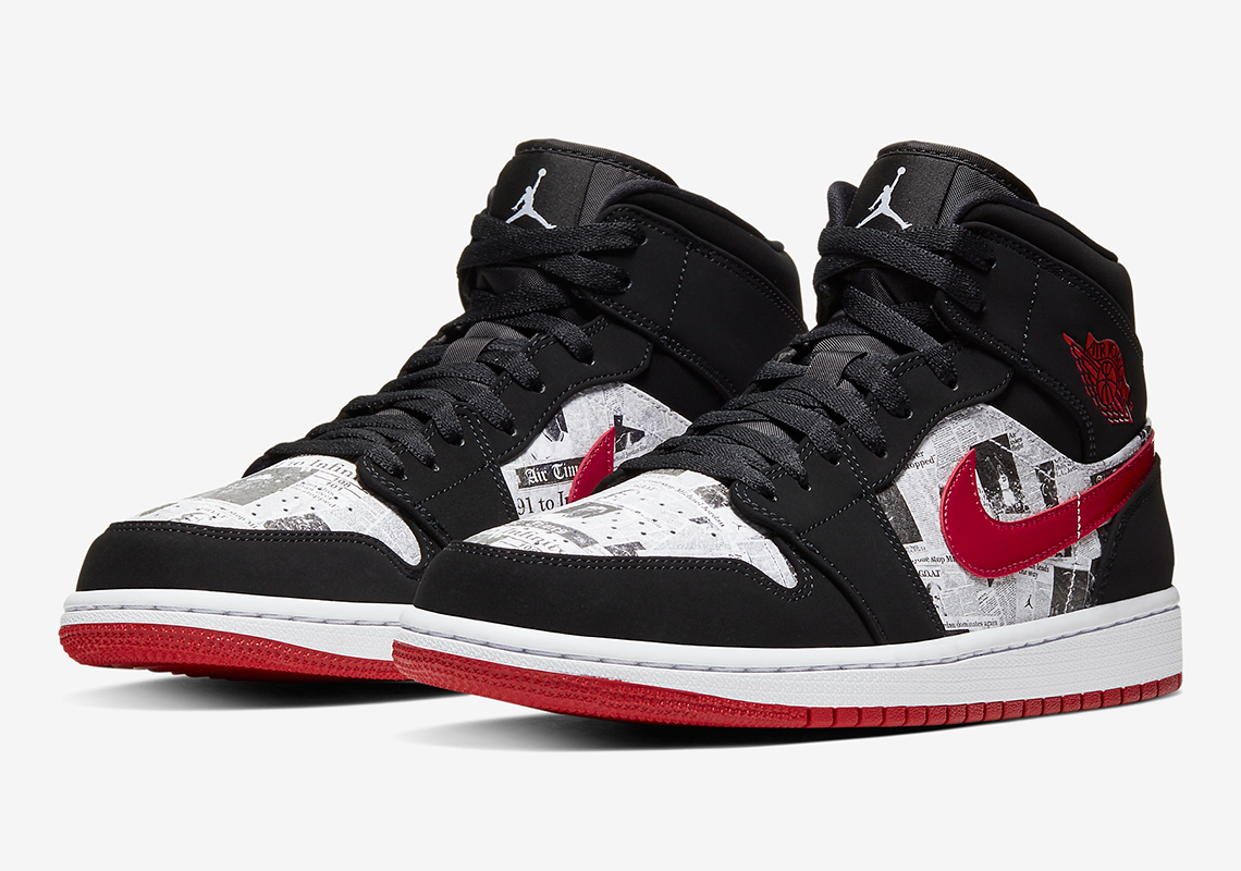 Air Jordan 1 Mid Newspaper 852542,061