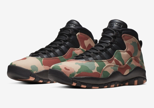 "The Air Jordan 10 Gets Draped In ""Duck Camo"""