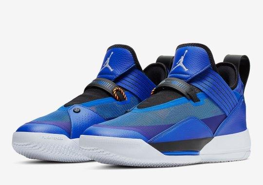 The Air Jordan 33 SE Gets Royal Blue Uppers Ahead Of FIBA Games