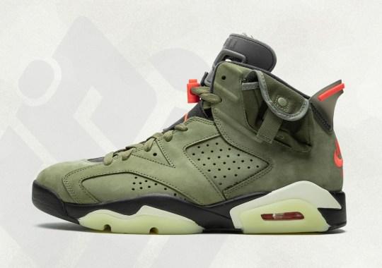 Travis Scott Gives An Up Close Look At Upcoming Air Jordan 6 Collaboration