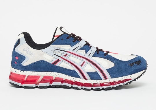 The ASICS GEL Kayano 5 360 Is Arriving Soon In Navy And Red