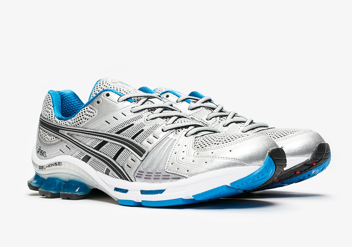 online store 4e890 e24c8 ASICS GEL-Kinsei OG Silver Blue Release Date | SneakerNews.com