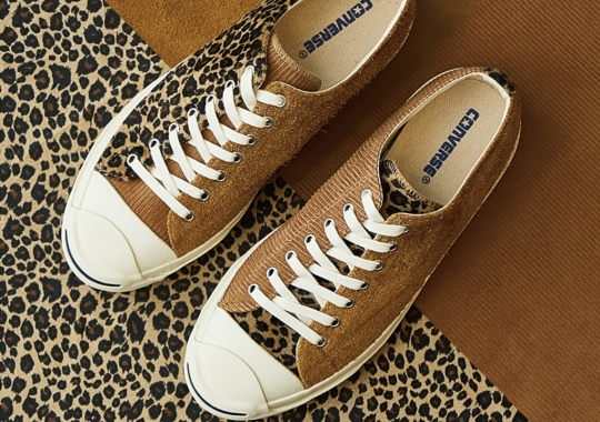 BILLY'S TOKYO Reveals Exclusive Converse Jack Purcell With Mismatched Patterns
