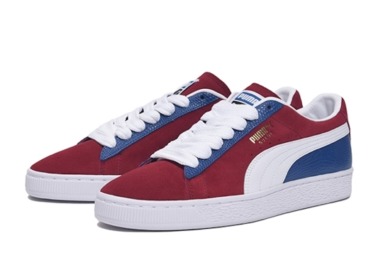 "The Puma Suede Classic ""Color Block"" Pack Boasts Two-Toned Styles"