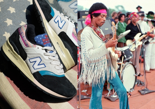 This New Balance 997 Is Loosely Inspired By Jimi Hendrix At Woodstock