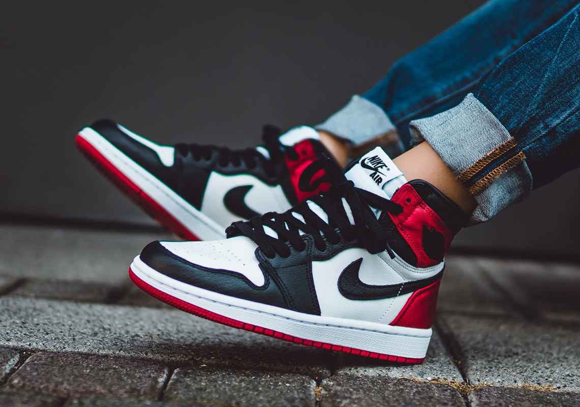 best loved 54910 b6801 Jordan 1 Satin Black Toe Store List | SneakerNews.com