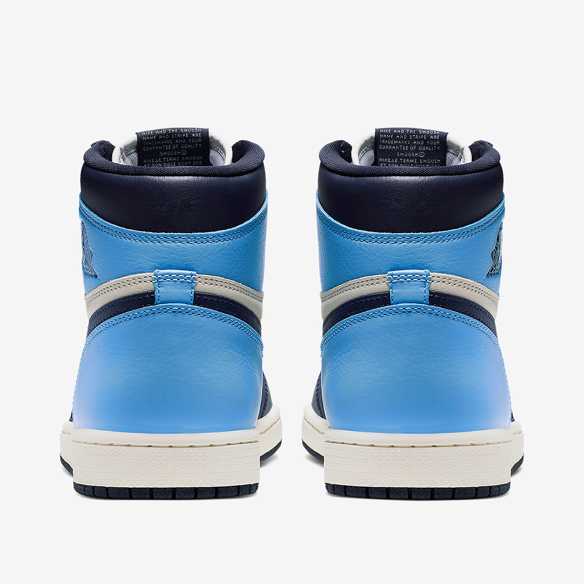 Air Jordan 1 Retro High OG Sail Obsidian University Blue ...
