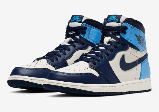 "Official Images Of The Air Jordan 1 Retro High OG ""UNC"""