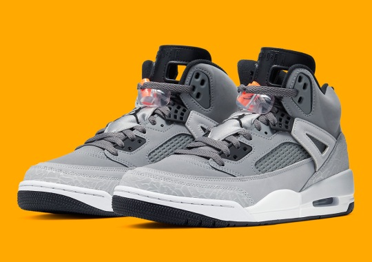 "The Jordan Spiz'ike Gets Another Spin On ""Cool Grey"""