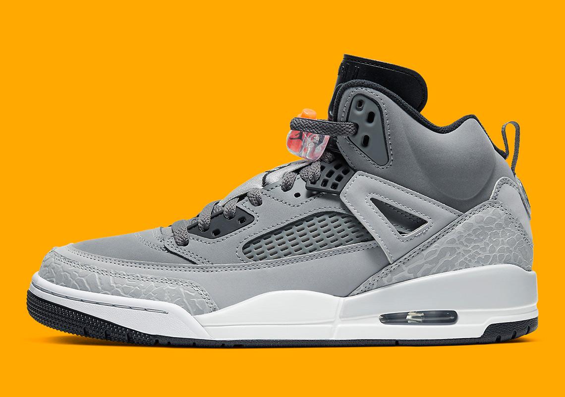 Jordan Spiz'ike Grey Orange 315371-008