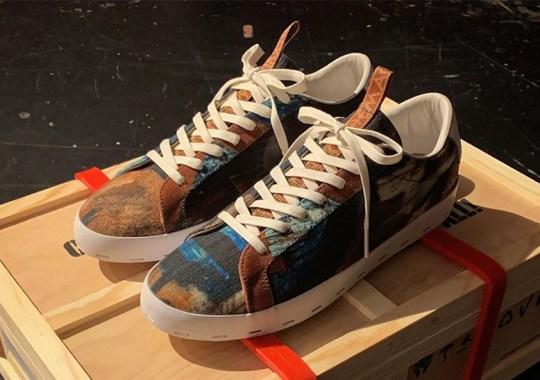 Michael Lau Reveals Canvas Painted Series Of Nike SB Blazers