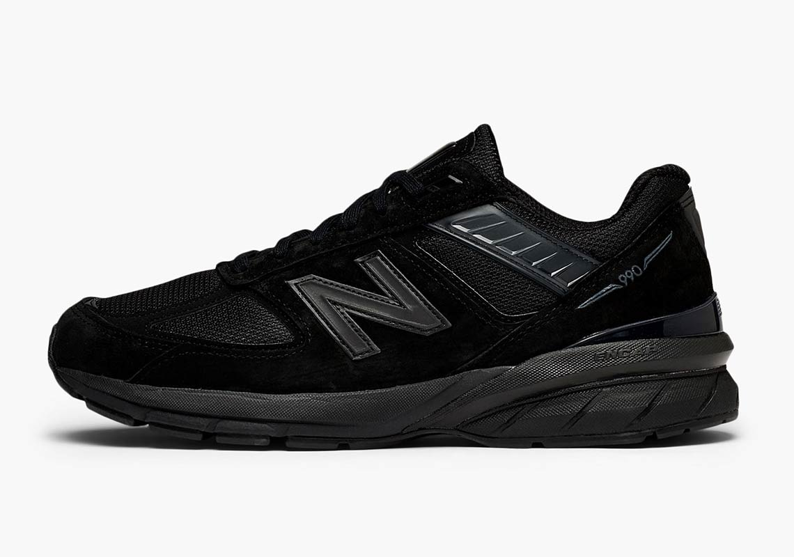 New Balance 990v5 Triple Black Release