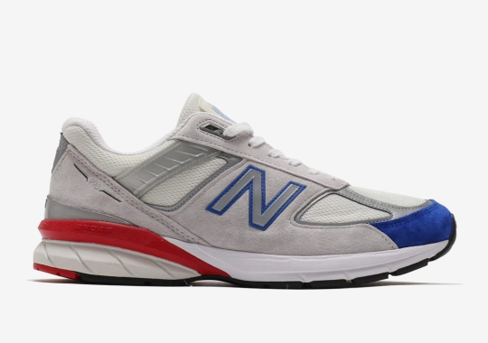 The New Balance 990v5 Gets A USA-Friendly Colorway