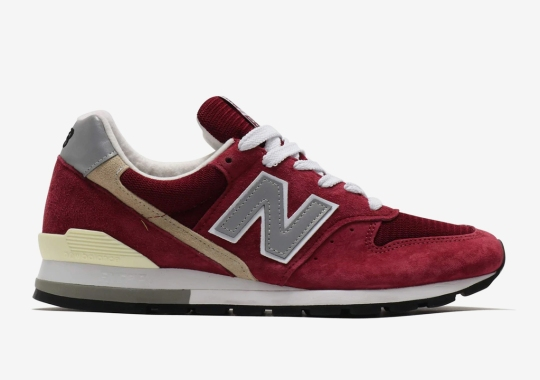 The New Balance 996 Made In USA Returns In Perfect Suede Options