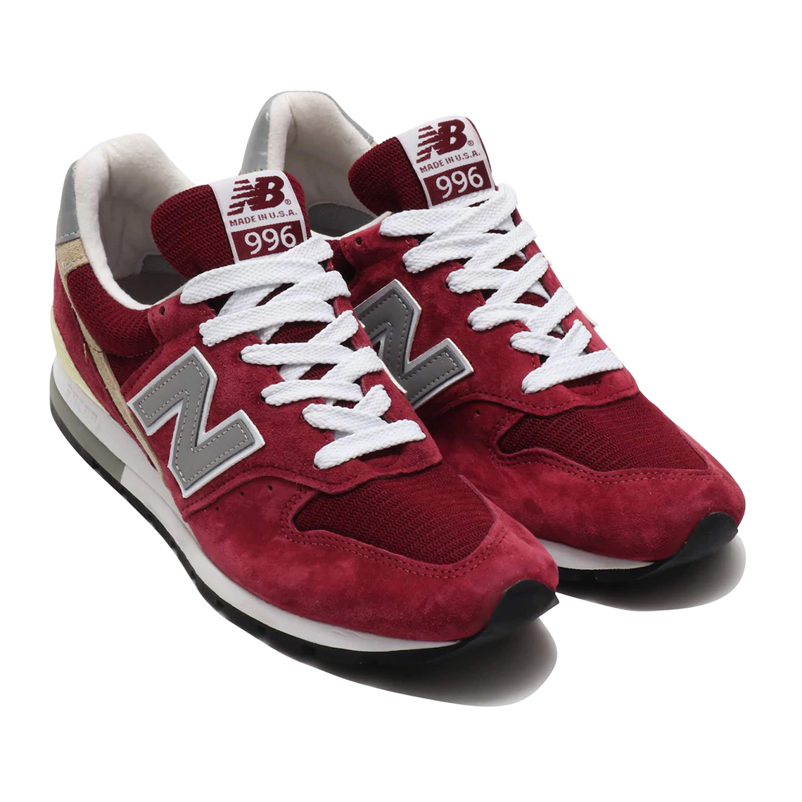 best service 51356 7715e New Balance 996 Made In USA Black + Red | SneakerNews.com