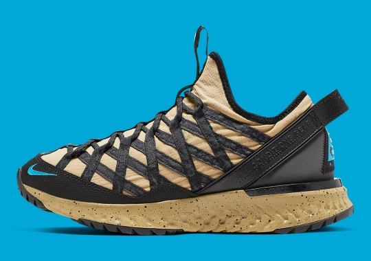 The Nike ACG React Terra Gobe Gets An Earthy Gold Color Scheme