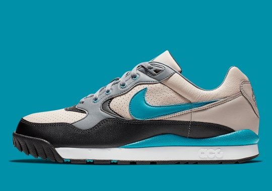 Another Nike ACG Wildwood Appears With Teal Accents
