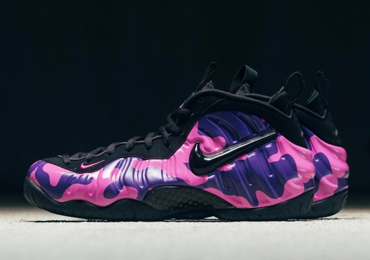 "Where To Buy The Nike Air Foamposite Pro ""Purple Camo"""