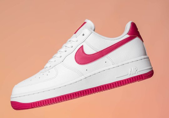 "Nike Air Force 1 Low ""Wild Cherry"" Releases For Women"