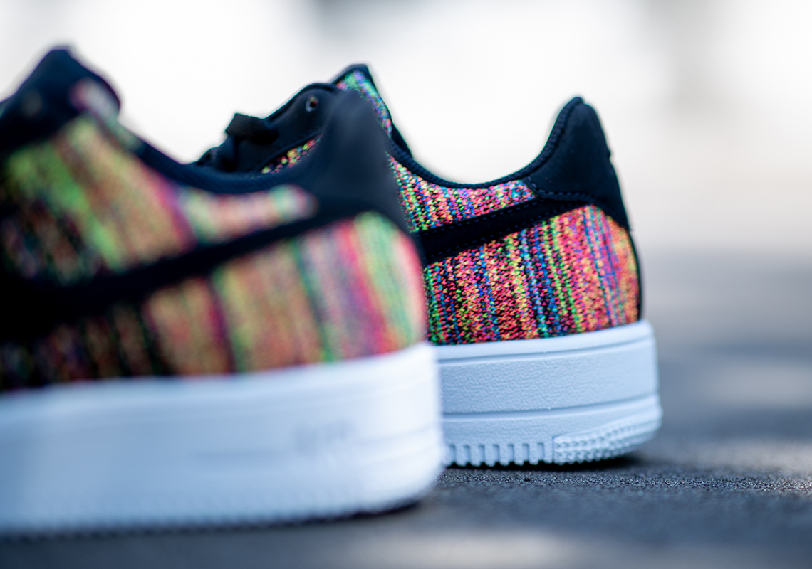 Nike Air Force 1 Flyknit 2.0 Multi Color BV0063 002