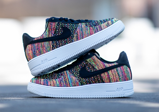 Classic Multi-Color Re-emerges On The Nike Air Force 1 Flyknit 2.0