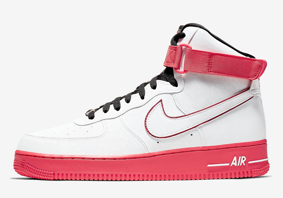 Nike Air Force 1 High China Hoop Dreams CK4581 110 Release