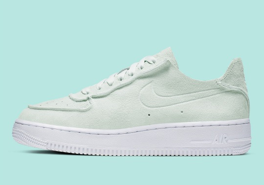 Nike Is Releasing An Air Force 1 With Deconstructed Suede Uppers