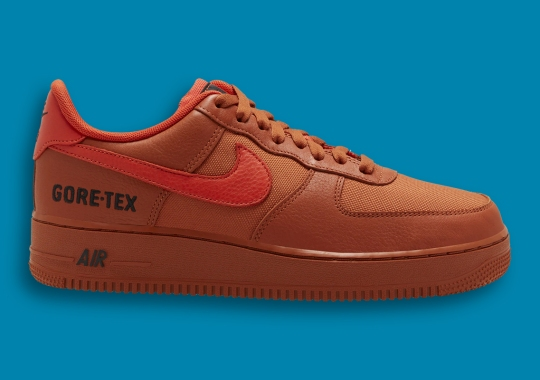 Gore-Tex Returns To The Nike Air Force 1