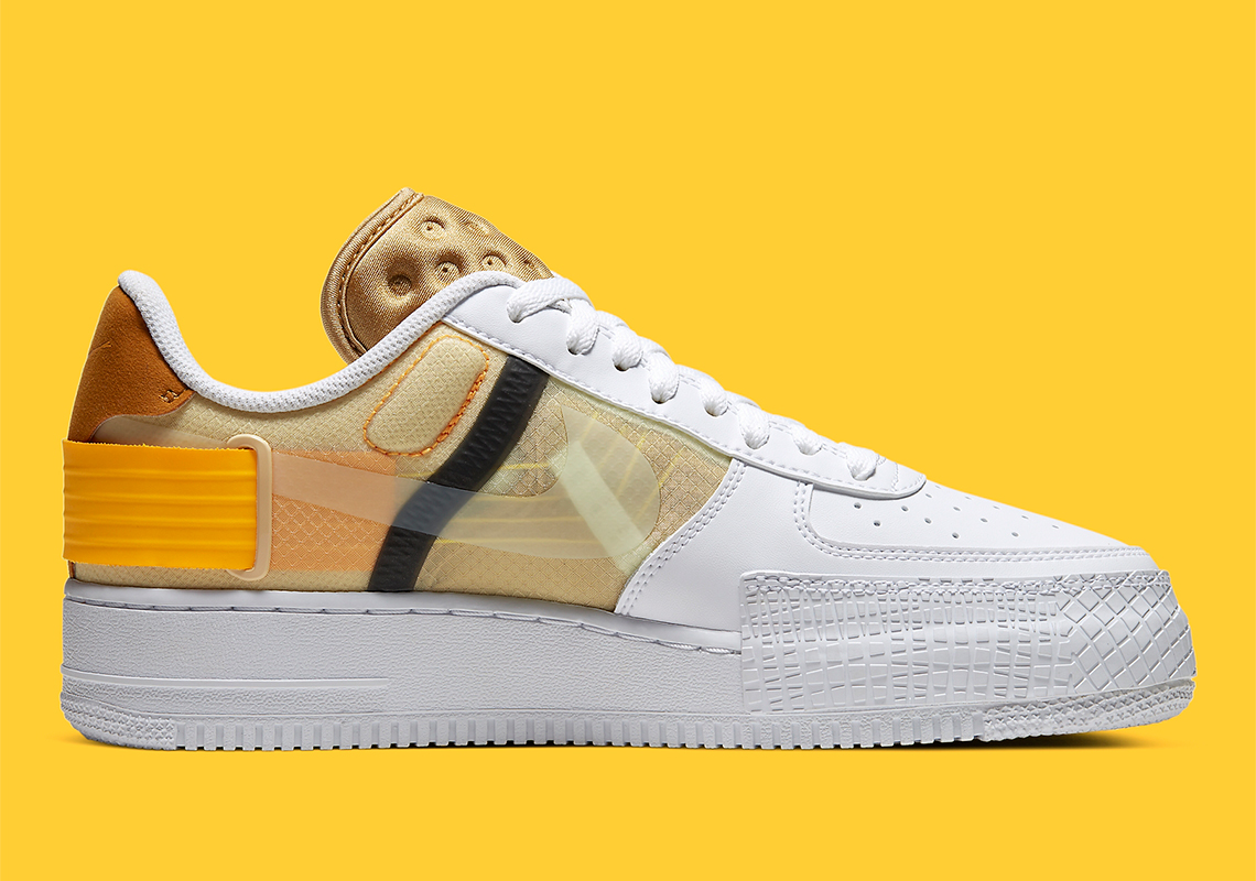 Nike N354 Air Force 1 Type Yellow AT7859 100 Release Info