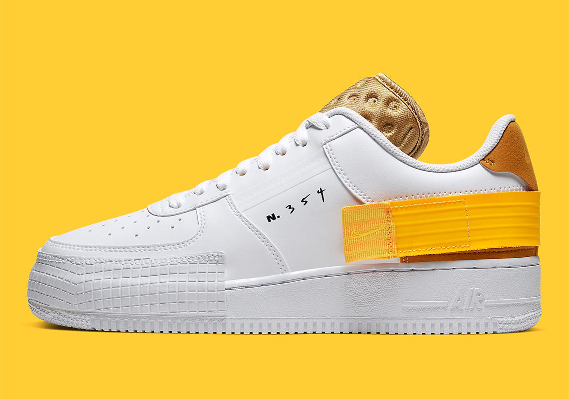 nike air force 1 gialle