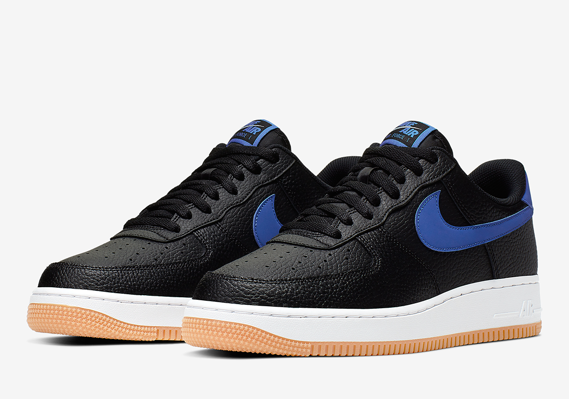 Nike Air Force One Low Navy Blue Grey White Discount, Price