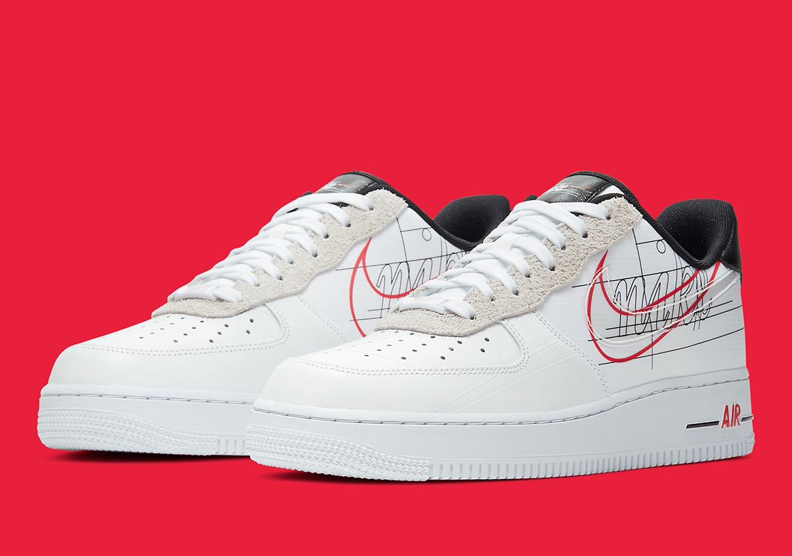 air force 1 script swoosh