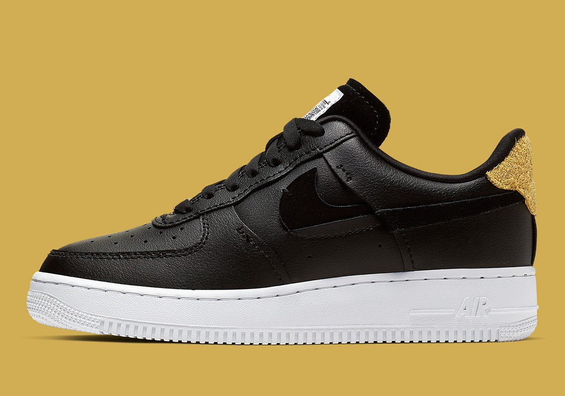 Nike Air Force 1 Vandalized Black White 898889 014 Release